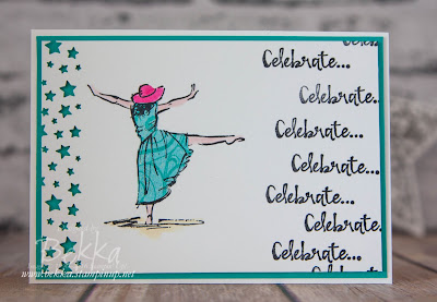 Beautiful You Birthday Card made with Stampin' Up! UK Supplies which you can buy here