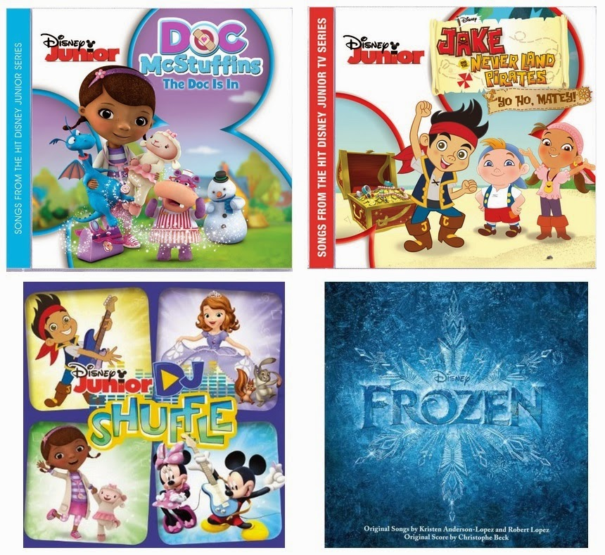 Sing Into Spring Giveaway from Walt Disney Records