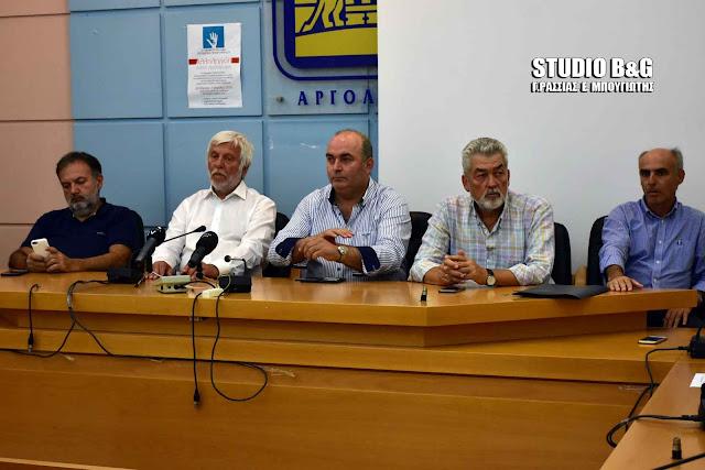 Έκτακτη σύσκεψη της Πολιτικής Προστασίας ΠΕ Αργολίδας συγκάλεσε ο Πέτρος Τατούλης