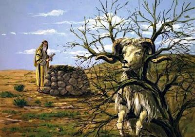 O sacrificio de Isaque