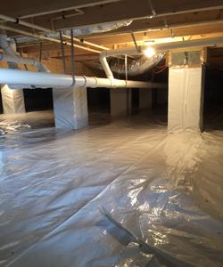 Crawl Space Project - Delmarva Spray Foam