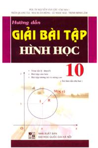 Hướng Dẫn Giải Bài Tập Hình Học 10 - Nguyễn Văn Lộc