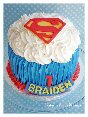 smash cake superman