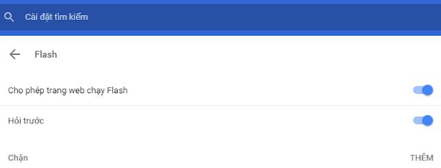 Cốc Cốc, Chrome bị lỗi Error loading player: No playable sources found (coccoc://plugins) 2