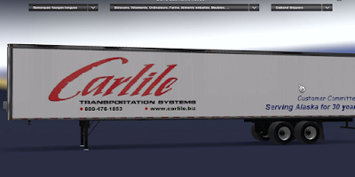 American Truck Simulator Carlile Transport Trailer Download MODs