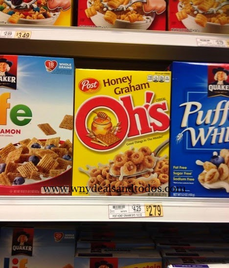 WNY Deals And To-Dos: Wegmans: Honey Graham Ohs Cereal