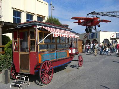 Tibidabo funfair in Barcelona