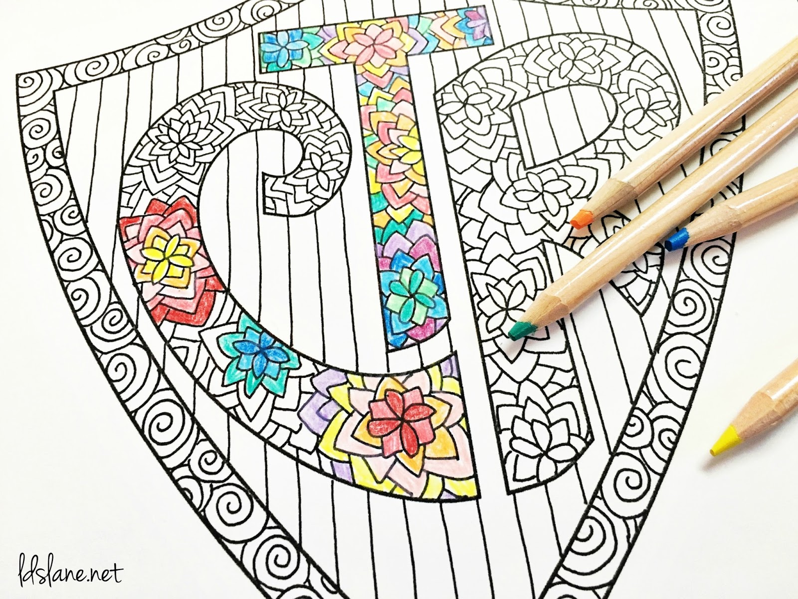 ctr coloring page download
