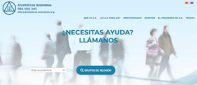 TODA INFORMACIÓN GENERAL EN PÁGINA DE AA ESPAÑA
