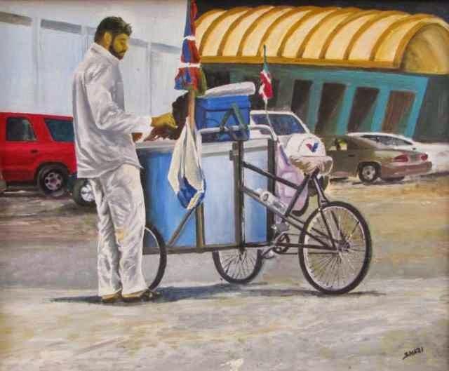 Индийский художник. Shaji Panthayil