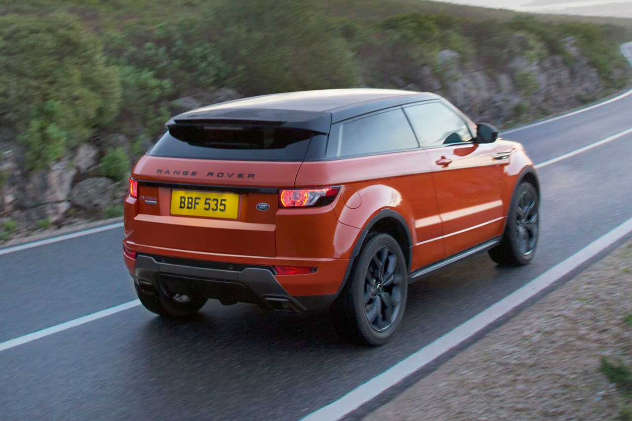 Range Rover Evoque Autobiography Dynamic rear
