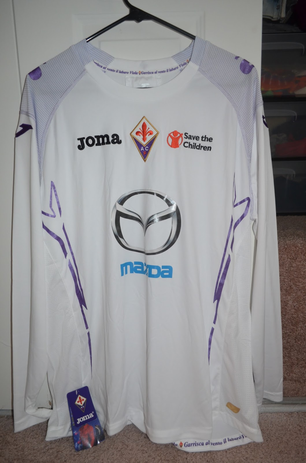 9954ce3b97 Kit Collection - My Soccer Jersey Collection  Fiorentina 2012-2013 Away