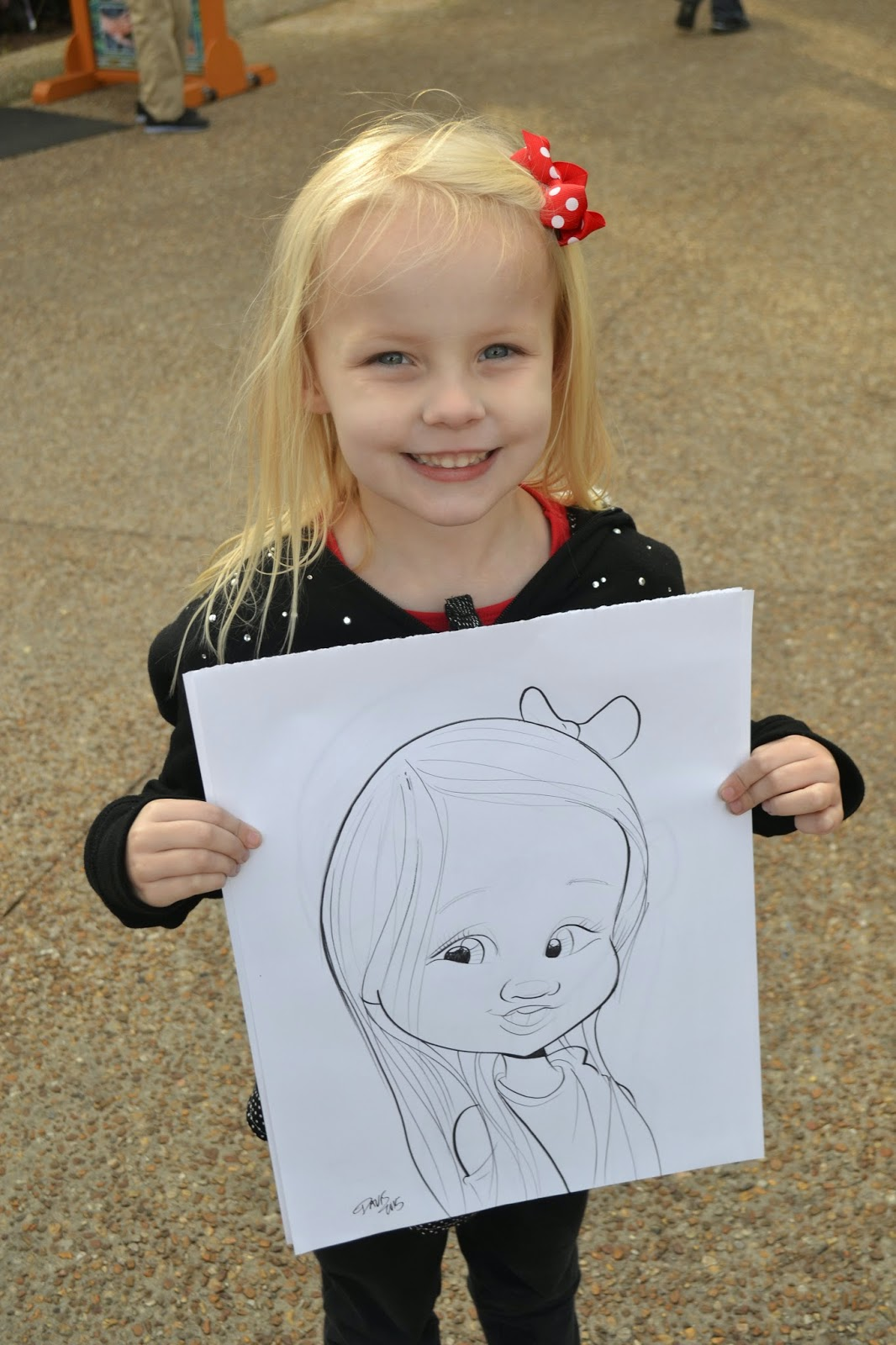 Seaworld Orlando Artist Drawing