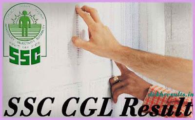 एसएससी सीजीएल रिजल्ट २०१७ मेरिट लिस्ट कट ऑफ