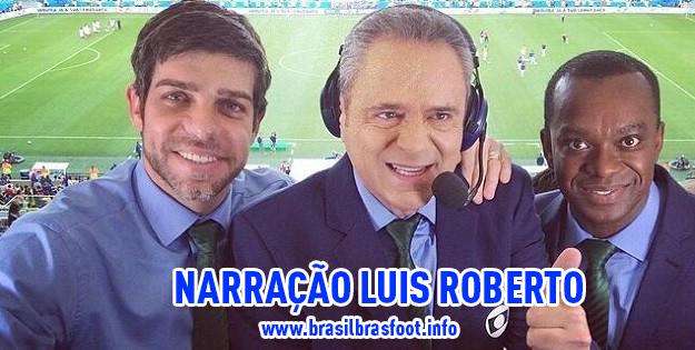 Narração Luís Roberto para Brasfoot 2018