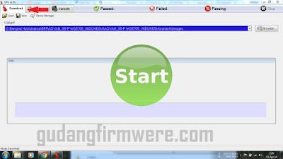 tutorial Flashing Menggunakan DFU Flash Too sukses