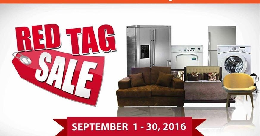 Manila shopper cw home depot red tag sale sept 2016 Cw home depot furnitures
