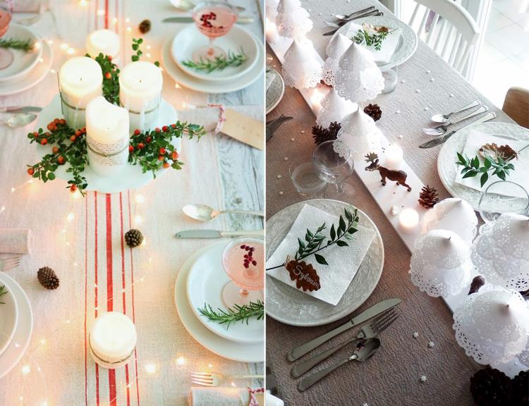 Decora la tavola per natale arredamento facile - Decorazioni tavola natale ...