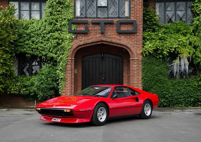 1979 Ferrari 308 GTB for sale at GTO Engineering Ltd - #ferrari #classic_car #for_sale