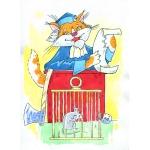 El tribunal del gat (Monjo Varnava (E.Sanin))