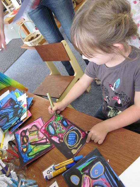 Mairtown Kindergarten Art Work