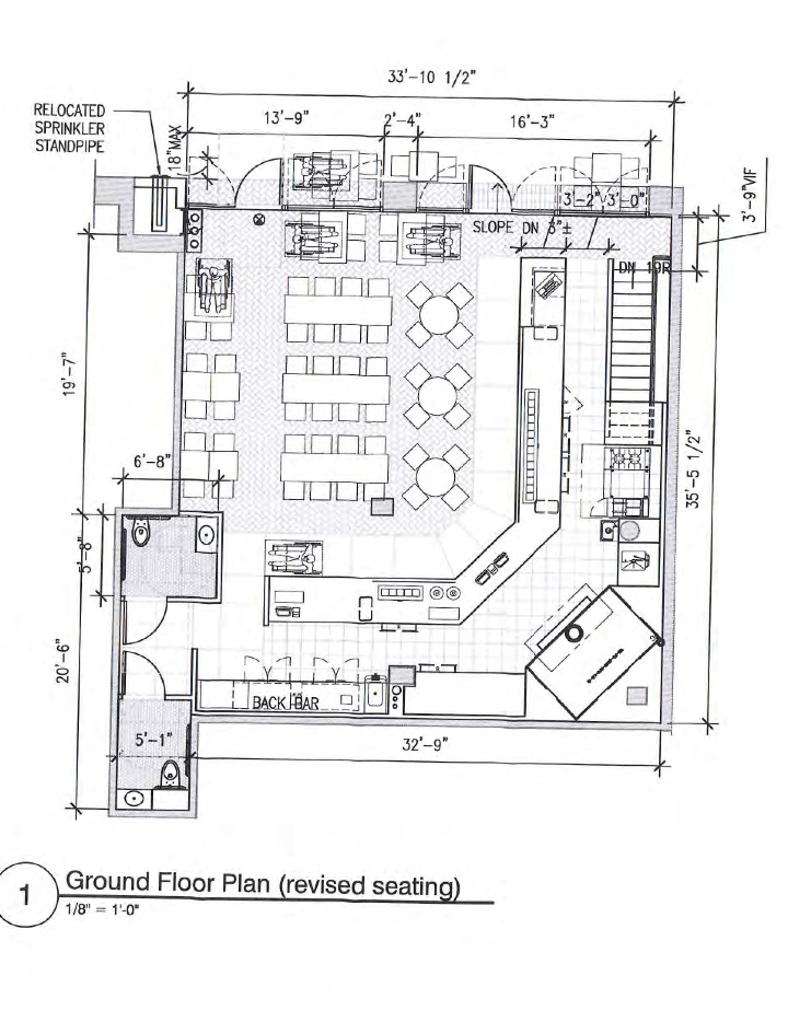 EV Grieve Danny Meyers Union Square Hospitality Group planning – Meyer May House Floor Plan