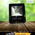 Đèn Pha LED duhal DJ-A427 200W giá rẻ