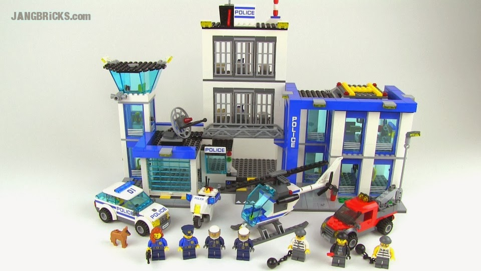 Lego City 60047 Police Station Amp 60046 Helicopter