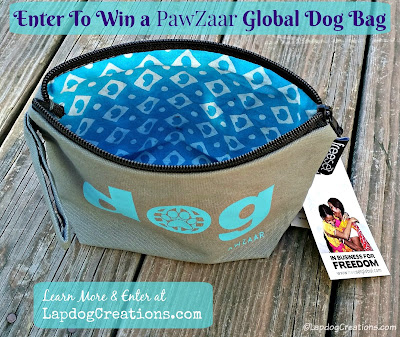pawzaar dog bag giveaway