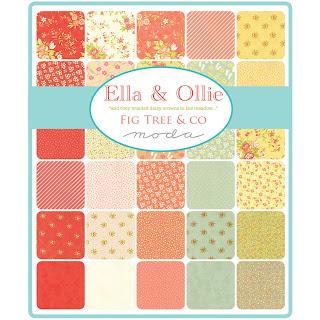 Moda Ella & Ollie Fabric by Fig Tree Quilts for Moda Fabrics