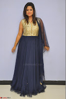 Shilpa Chakravarthy anchor and actress in anarkali dress  Exclusive 018.JPG