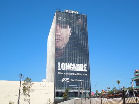 Longmire season 2 giant billboard