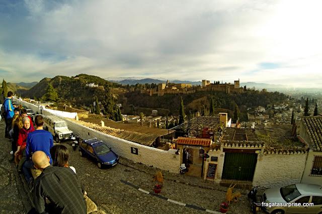 Alhambra de Granada, Andaluzia, Espanha