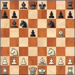 Partida de ajedrez María Luisa Gutiérrez - Antonia Jover, posición después de 9.Ag5?
