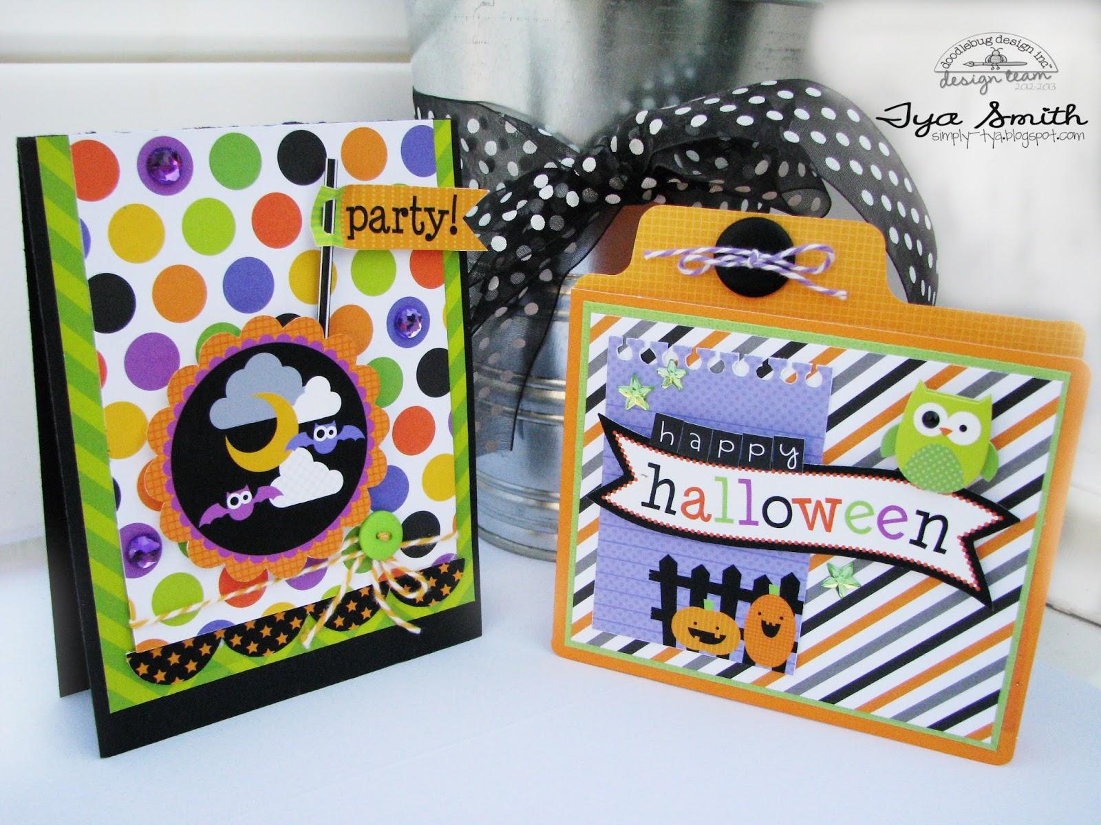 Halloween Parade: Creative Card Inspiration