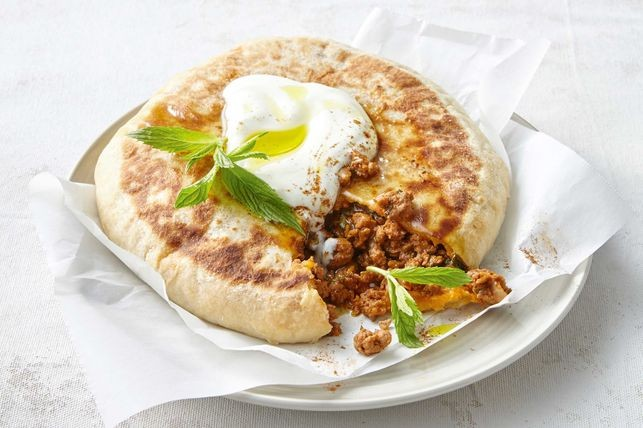 Roll up for this deliciously rich and hearty lamb pies Turkish lamb pies recipe