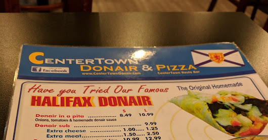 Eating OFF the Hill: Centretown Donair & Pizza