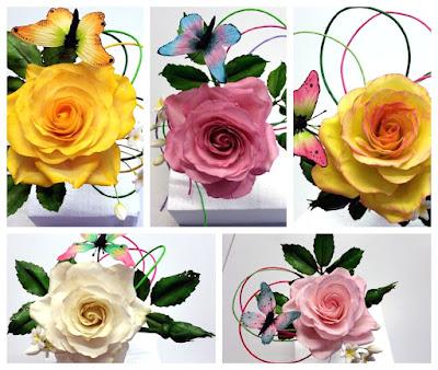 Gumpaste Rosen Zuckerrosenkurs