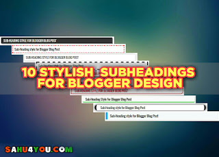 10 Stylish Sub-Headings Design For Website