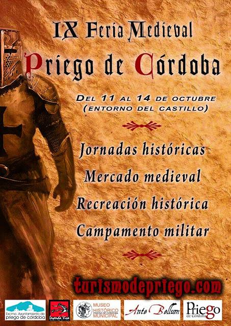 Feria Medieval Priego de Córdoba 2018