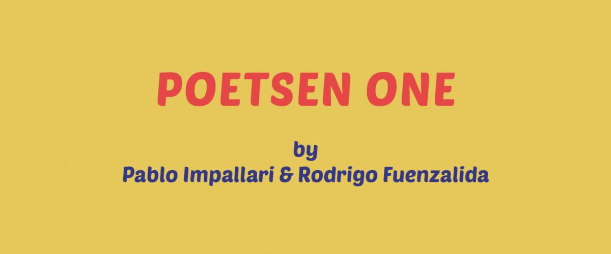 Kumpulan Font Terbaik Untuk Desain Sticker - Poetsen One