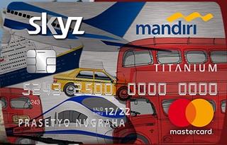 Kartu Kredit Mandiri skyzcard