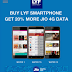 LYF handset users can now avail additional 6GB 4G data on Rs 309 and 12GB 4G data on Rs 509 recharges