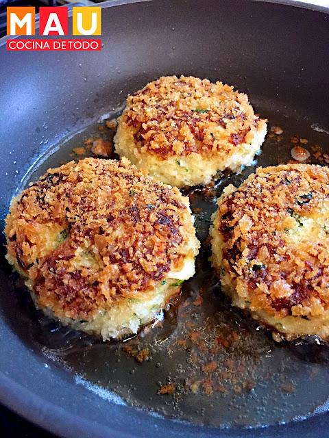 receta crab cakes tortitas de cangrejo jaiba mariscos cuaresma