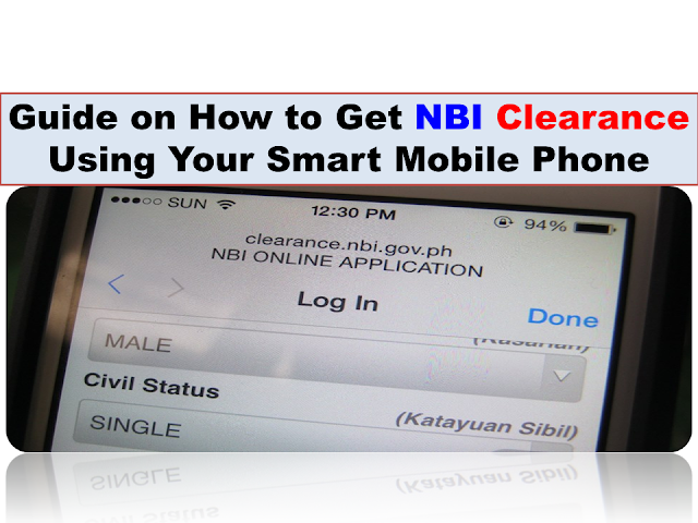 how to get an nbi clearance abraod