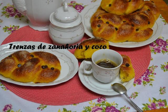 TRENZAS DE ZANAHORIA Y COCO
