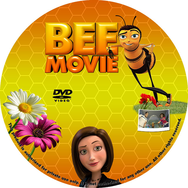 Bee Movie DVD Label