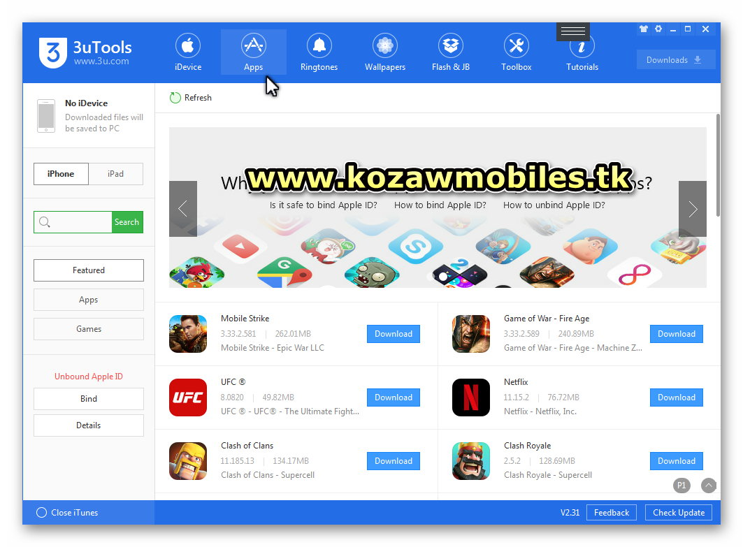 3uTools & iMyFone D-Back (For iPhone) - KoZaw Mobile & IT