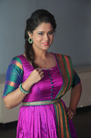 Shilpa Chakravarthy in Purple tight Ethnic Dress ~  Exclusive Celebrities Galleries 009.JPG