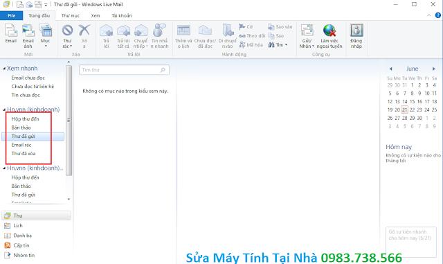 Cấu hình windows live mail 2012 - H11